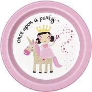 Princess & Unicorn Plates
