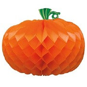 Pumpkin Honeycomb Decoration