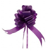 Purple Pull Bow Ribbon