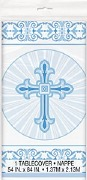 Radiant Cross Blue Tablecover