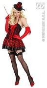 Red Burlesque Costume