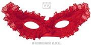 Lace Eyemask Red