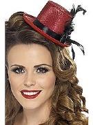 Red Burlesque Top Hat