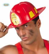 Red Fireman Helmet