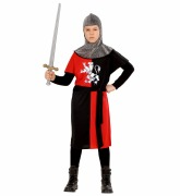 Red Medieval Warrior Costume