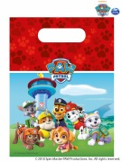 Red Paw Patrol Party Bags