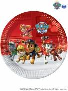 Red Paw Patrol Plates