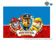 Red Paw Patrol Tablecover