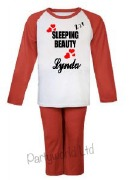 Red Sleeping Beauty PJs