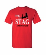 Red The Stag T-Shirt