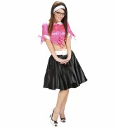 Rock and Roll Black Skirt