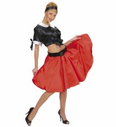 Rock and Roll Red Skirt