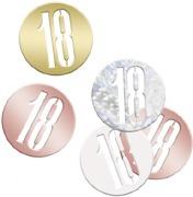 Rose Gold 18th Confetti