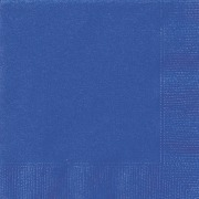 Royal Blue Paper Napkins