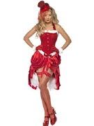 Santa Baby Burlesque Costume