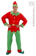 Santa Elf Helper Costume