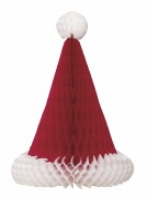 Santa Hat Honeycomb Decoration