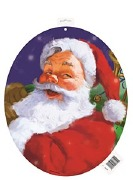 Santa Holiday Cutout