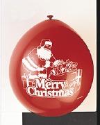 Santa Merry Christmas Balloons