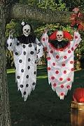 Scary Clown Decoration Black