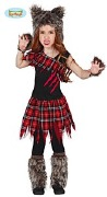 Scottish Wolf Girl Costume