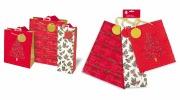 Set Of 3 Christmas Bags