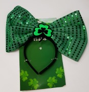 Shamrock Bow Headband