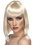 Short Glam Blonde Wig
