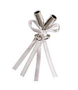 Silver Mini Flute Favour