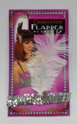 SilverSequin Flapper Headband