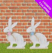 Sitting Bunny Plaque