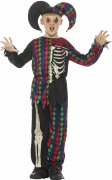 Skeleton Jester Costume