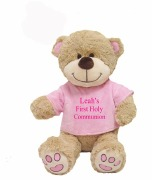 Small Girl Communion Teddy