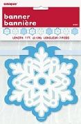 Snowflake Cutout Banner