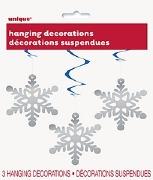 Snowflake Hanging Decorations