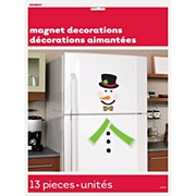 Snowman Magnet Decoration