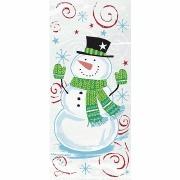 Snowman Cello Bags