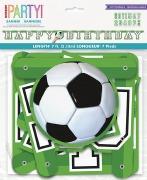 Soccer Letter Banner