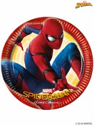 Spiderman Homecoming Plates