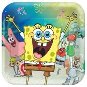 Spongebob Party Plates