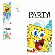Spongebob Party Invitations