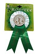 St Patrick's Rosette Badge