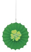 St Patricks Day Fan Decoration