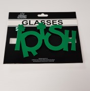 St Patricks Irish Glasses