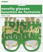St Patrick's Party Glasses
