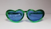 St Pats Heart Glasses