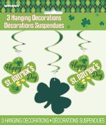 St Pats Swirl Decorations