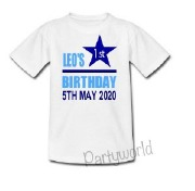 Star First Birthday T-Shirt