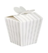 Wedding Stripe Favor Boxes