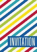 Stripes Invitations